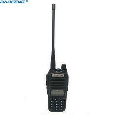 Par de Walkie Talkie UV 82 de banda Dual UHF VHF Portátil Escáner de Radio De dos vías Transceptor de Radio Baofeng uv-82 Jamón Radio
