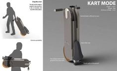 Classy Eco-Scooter Concepts : Everywhere foldable electric scooter