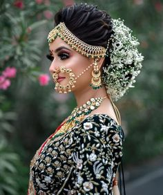 """Third Look of the """"Hairstyle and Makeup Seminar"""" which was held in Ahmedabad on Our Team : Sponseror : , , , Makeup : Richa Dave Hairstyle : Prarthi And Urvashi Dave Hosting By : Harsh Singh Model : Janki Bodiwala Bun By : Loading. Third Look of the … Bridal Eye Makeup, Bridal Makeup Looks, Indian Bridal Makeup, Bride Makeup, Bridal Hair Buns, Bridal Braids, Bridal Poses, Bridal Photoshoot, Indian Wedding Hairstyles"""