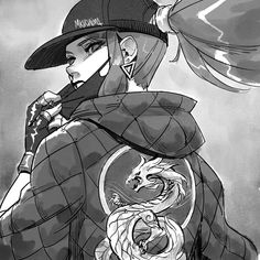 For this theme, I sketched a dan art for KDA Akali because her jacket is so sick 👌🏻(and it has a dragon) Akali League Of Legends, League Of Legends Characters, Lol League Of Legends, Akali Lol, Lol Champions, Art Corner, Warrior Girl, Ichimatsu, Anime Fairy