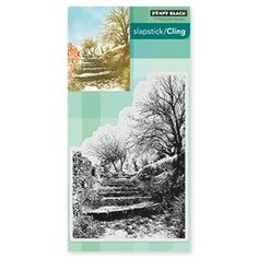 Penny Black TERRACED LANE Cling Stamp 40-448