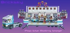 LEGO Friends pop group brings their first music tour to your neighborhood with this awesome rolling stage http://www.brothers-brick.com/2016/05/09/lego-friends-pop-group-brings-their-first-music-tour-to-your-neighborhood-with-this-awesome-rolling-stage/