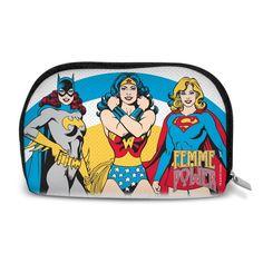 Necessaire Femme Power #LojaDCComics #bandUPStore #Necessaire #Bag #FemmePower #WonderWoman