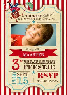Uitnodiging kinderfeestje maken - Leuke uitnodigingen   Kaartje2go
