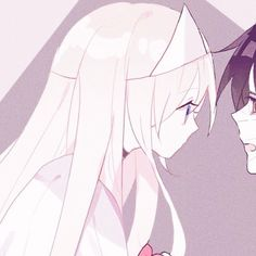 - Save = follow me. #Shi Anime Love Couple, Couple Cartoon, Cute Anime Couples, Sad Anime, Anime Life, Kawaii Anime, Angel Of Death, Matching Profile Pictures, Satsuriku No Tenshi