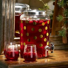 Whether you're a party planner or just a hostess for the holidays, you need stylish and useful beverage dispensers!