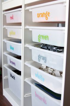 Organizing With Kids - IHeart Organizing