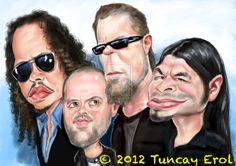Metallica by ErolArt.deviantart.com