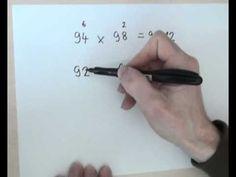 480-Jednoduché násobenie čísel blízkych číslu 100