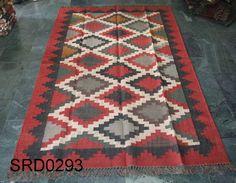 """Antique Turkish Kilim Rug,Large Area Rugs,Bedroom Rug,Wool 60""""x 96"""" Carpet #Turkish"""