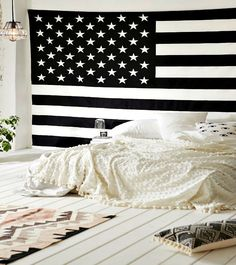American Flag Magical Thinking Wall Hanging Tapestry - GoGetGlam