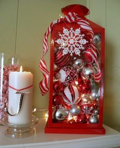 Super Easy DIY Christmas Decor Ideas - Whimsical Lantern - Click Pic for 25 Christmas Craft Ideas