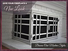 AMS Fireplace - Give your Fireplace a New Look Today! #AMSgates - We Ship Nationally!