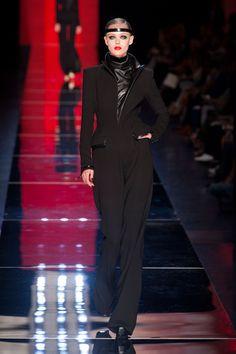 jean paul gaultier : paris haute couture fall/winter 2012/13; frida gustavsson