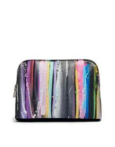 ASOS Clutch Bag In Blurred Lines Print I soooo want this