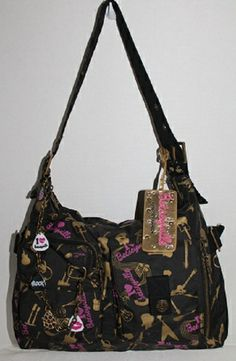 Betsey Johnson School of Rock Large Hobo Pre Loved. Starting at $1 on Tophatter.com!