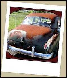 Ohio ~ Yale - Ravenna 1953 Chevrolet project car seen along OH14 in Yale-Ravenna, Portage County, Ohio.