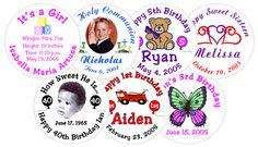 Label Stickers, Baby Shower, Personalized Stickers, Html, Ideas, World, Santiago, Vinyls, Babyshower