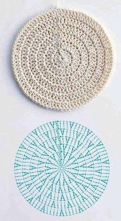 Crochet designs crocheting farmhouse rugs hamper squares trapillo crochet how to left handed granny square tutorial allfreecrochet com crochet granny lefthanded square Crochet Diagram, Crochet Chart, Crochet Motif, Crochet Designs, Crochet Doilies, Crochet Stitches, Crochet Patterns, Knitting Patterns, Crochet Circle Pattern