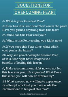 Overcoming Fear! If you would like to talk through some Mindset Strategies feel free to book in for a FREE Consultation Here>>> https://www.bookfresh.com/service/outlive-phone/060803917