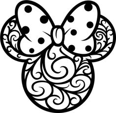 Explore Hd Heaven Clipart Tattoo Design Gates - Minnie Mouse Mandala Svg and upload more creative png images on Sccpre. Minnie Mouse Clipart, Disney Clipart, Mickey Mouse, Silhouette Art, Silhouette Cameo Projects, Damask Tattoo, Gates, Bow Clipart, Anchor Tattoo Design