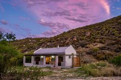 Clouds bounce colour off the sunset at the Elephant Leisure Resorts unit four. Photo by Melanie van Zyl. Provinces Of South Africa, Farm Cottage, Cabins And Cottages, Good House, Off Colour, Holiday Destinations, Weekend Getaways, Cosy, Things That Bounce
