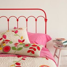 guest room: Strawberry Shortcake grown up a bit