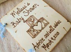 Baby shower book
