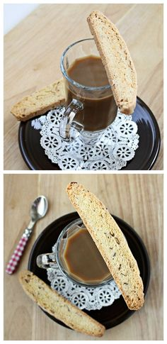 Almond Biscotti are so much easier to make than regular cookies! Also recipe adaptations for Anise biscotti, Hazlenut biscotti, and Orange biscotti!   Culinary Hill