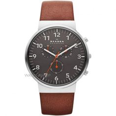 Mens Skagen Ancher Relaxed Chronograph Watch SKW6099