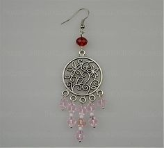 How to make chandelier earring step3