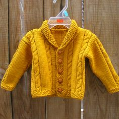 Heirloom Cables Baby Sweater