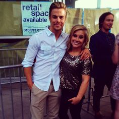 Shawn Johnson & Derek Hough. Best dancing with the stars couple!