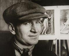 Sculptor Anton Lavinsky, Moscow, 1924 by Aleksandr Rodchenko
