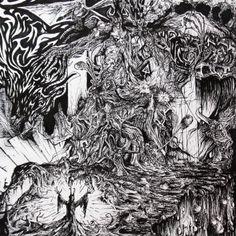 Daemos Das Claflogarus (2014) Ink on paper  250 x 250 mm
