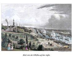 Bildergalerie: Historische Hamburg-Ansichten von Hafen und Elbe - hamburg.de