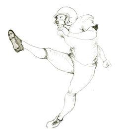 DISEGNI,PITTURA,INCISIONI: FOOTBALL