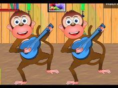 Five Little Monkeys Jumping on the Bed - Nursery Rhymes