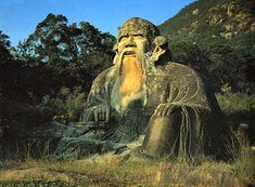Skyler Strandberg, I pinned the Daoism statue because it was a religion created by Laoizi in East and Southeast Asia. Taoism, Buddhism, Images Of Faith, China Architecture, Sculptures, Lion Sculpture, Natural Foundation, My Past Life, Ancient Beauty