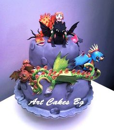 This How To Train Your Dragon 2 Cake Has All The Dragons