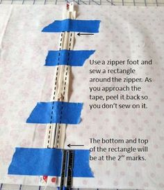 This is my fav way to install a zipper - learned it in high school home ec class - works best every time!