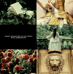 """crestadeen: """" disney aesthetics: belle (beauty and the beast // requested by hiverluxuriante) """"And for once it might be grand To have someone understand I want so much more than they've got planned… """"..."""