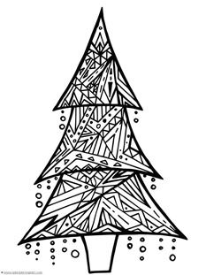 Christmas+Doodle+Coloring+Pages+-+1+1+1=1