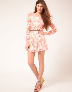flowery dress by Rare