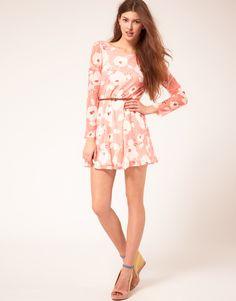 flowery dress by Rare