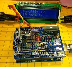 Arduino DCC Controller                                                                                                                                                                                 Más