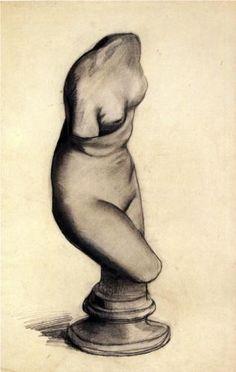 Torso of Venus - Vincent van Gogh