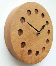 handmade wood clocks | Handmade Wooden Wall Clocks