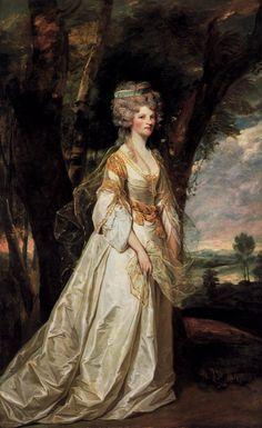 REYNOLDS, Sir Joshua  Lady Sunderlin  1786
