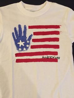 #Orlando #Kissimmee #Immigration #Lawyer #GailLaw #FreeConsultation shares her kids #craft #handprints #usa #flag #tshirt #july4 #memorialday
